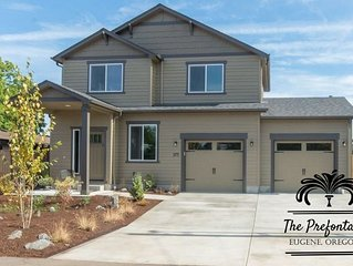 The Prefontaine. Eugene, OR. 4 BR/2.5 BA. Beautiful Centrally Located Estate.