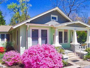 Bramley House: 3 Blk. Walk to DWTN Hendersonville-Lovingly Restored