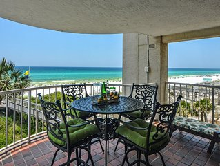 Open 4/22 - 27! You Found It! 3 BR/3 BA. Beachfront! Amazing Gorgeous Views!