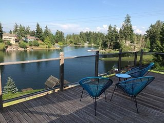 Open Concept Newly Renovated House ON Lake Tapps