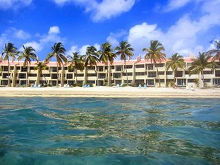 Three Steps...to Paradise - BEACHFRONT - SPRING SPECIAL - 7th night FREE !