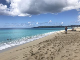 Ready to get away? � We have FIVE Miles of Unspoiled & Serene Beaches! �