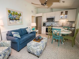 Tranquil Anna Maria Island Resort, Unit 1... Only 4 units, all amenities