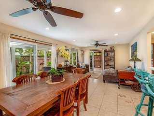 Puako Pau Hana, A Restful, Private Retreat located steps from the water!!
