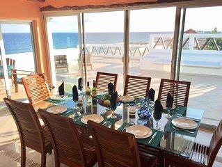Oceanfront Penthouse -4300 Sq Ft,2 Level -Mi Casa Del Mar