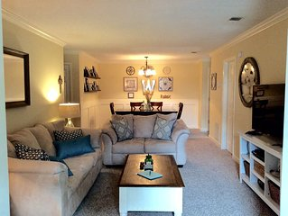 Come relax on beautiful SSI! Large, comfy condo with everything you'll need!