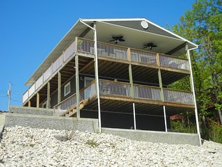Remodeled Lakefront Home, Amazing Views, Cove Protection, 10% off 7+ Night stays