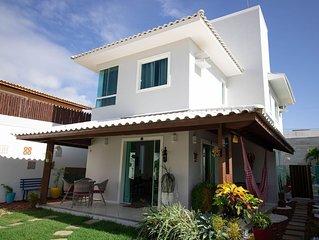 GB01 Excelente Casa 4/4 em Guarajuba com Piscina e WiFi