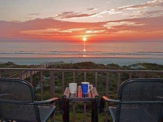 Beachers' Lodge #402 top-floor 1 bedroom condo with stunning oceanfront view