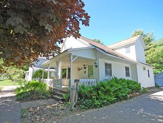 Updated Historical Cottage in Empire 3 blocks from Lake Michigan Beach