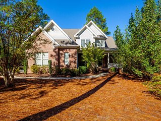 This home is perfectly located in the Sandhills! 5 Bed/4.5 Bath Sleeps 12