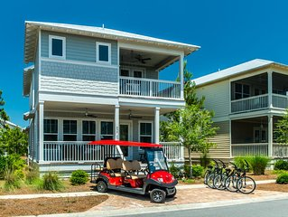 Specials 10/18-12/31!* 6 Seater Golf Cart! 2 King Beds! 4 Bikes! The Laughing Pl