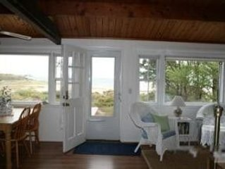 Quintessential Cape Cod Waterfront Bay Beach Cottage Wellfleet