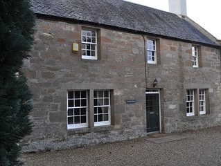 Located in the grounds of historic Arniston House 30 minutes from Edinburgh
