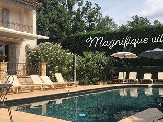 Magnifique maison familiale avec piscine chauffee/calme/proche mer,lac,montagne