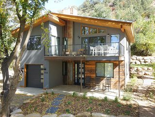 DOWNTOWN DURANGO HIDEOUT,  NEW MODERN CUSTOM HOME