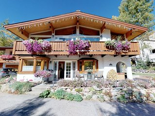 True Bavarian Chalet-Lower Level-with Private Hot Tub
