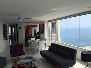 Spacious And Stylish Oceanfront Apartment