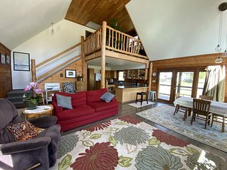 Charming Log Home in the Bridger Mountain Foothills - 2 Bed  & 2 Bath