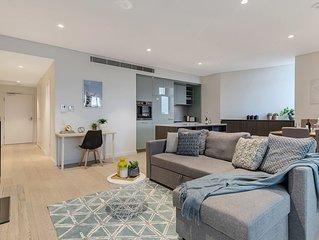 Sleek modern apartment close to everything