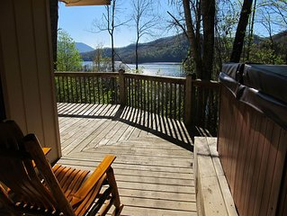 Secluded,  Hot Tub! Lake view Cabin! Special call me!
