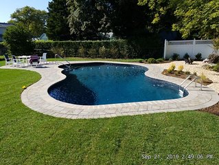 Quaint and Quiet cottage. Newly renovated built in pool!