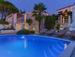 Luxury Villa Blue Dondola, on the Island of Krk