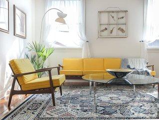 Luxe Art Deco Style Condo overlooking Magazine St.