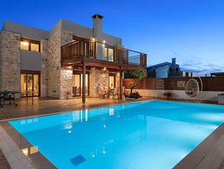 Sperveri Enalio Villas – Luxury Stone Sea View Villas With Big Private Pool