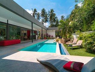 Villa de luxe ideal pour la famille avec piscine  Transfers aeroport inclus