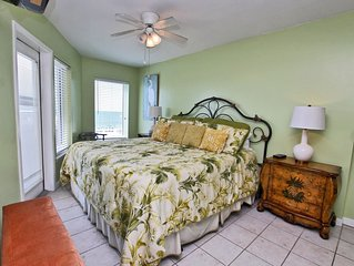 Boardwalk 386 - 2BR/2BA, Sleeps 6. Chic Sophisticated Gulf Front Condo in Heart