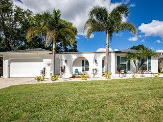 Gorgeous Family Friendly Vacation Home with Heated Pool & Close to the Beach!