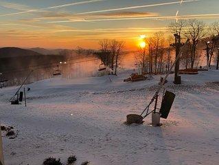 Ski In/ski Out, 2 Bedroom Condo at Wintergreen Resort