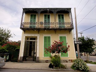 Elegantly Decayed 1855 Creole Mansion in Treme near French Quarter