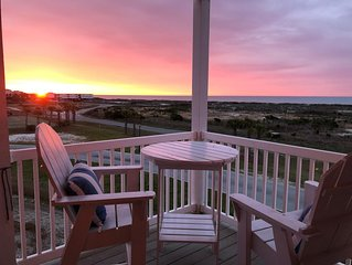 Beautiful view! 4beds/4bath, Ocean View from porches. Pets: yes