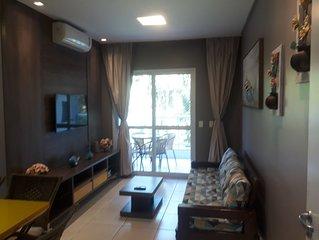 Apto Luxuoso Área  Nobre da P. Grande Ubatuba - Ar Cond. Wi-Fi, Tv Smart Netflix