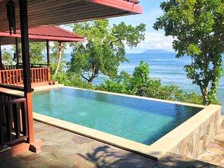 Votre villa de luxe sur la plage (Bunaken - Manado)
