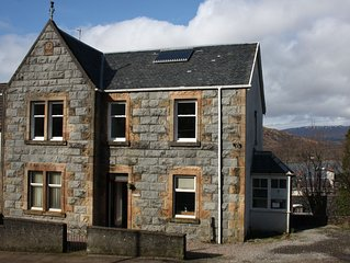Self Catering Apartment with Unrivalled View over Town and Loch
