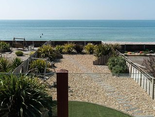 Beach House with direct frontage onto beach, close to Witterings