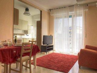 Appartamento 4 posti letto, 2 camere doppi servizi, ascensore, posto auto