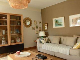 Appartement au calme, à 5 minutes des plages, peut accueillir 7 personnes