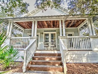 Cottage in Camp Creek, Deeded Beach Access! Pool & Hot tub! Vacay Along Hwy 30A