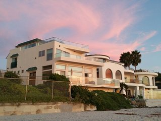 Oceanfront Beach Home, 5 BR, 5.5 BA, 3 Decks, Elevator