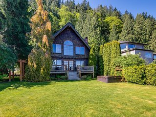 Lake Whatcom Waterfront Cabin