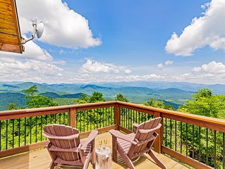Breathtaking Views of 7 Mountain Ranges  - Close to Asheville
