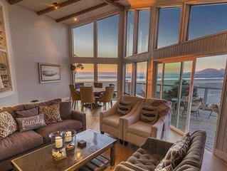 Oceanfront, Private Beach Access, Luxury Newly Remodeled, Wifi, Gazebo, Fire Pit