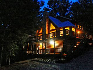 Mountain Vista: Stunning 50-Mile Views, Acres Of Seclusion, New Hot Tub/Fire Pit
