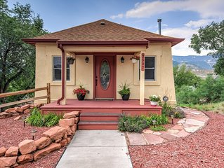 Fabulous location in the heart of Old Colorado City with views of Pikes Peak