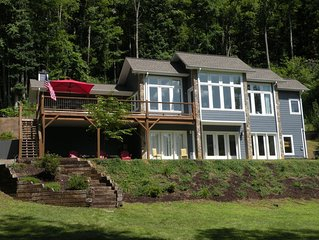Amazing Custom Built House Right On The Hiawassee River