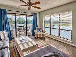 Sandy Toes & Salty Kisses Lovely Corner Condo w/ Golf Cart! Pool/Beach Access!